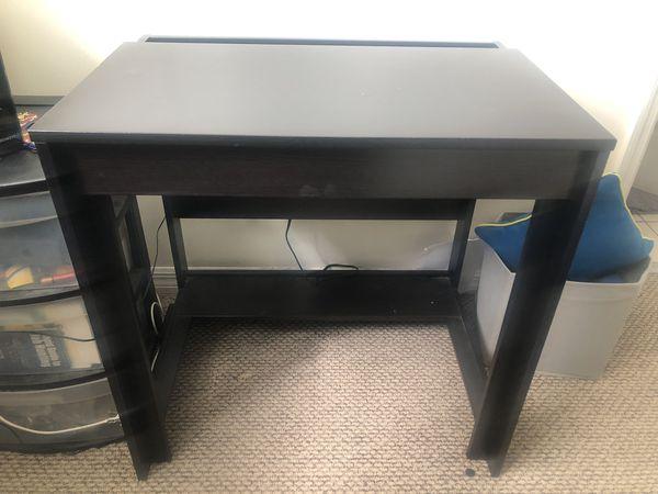 IKEA black desk EXCELLENT CONDITION