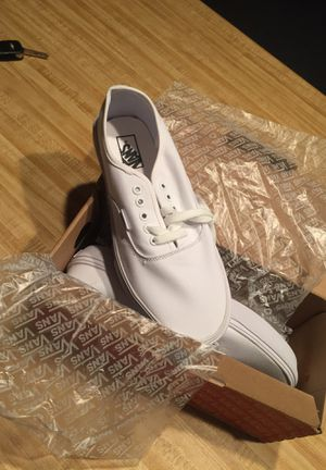 Authentic white vans for Sale in Springfield, MO