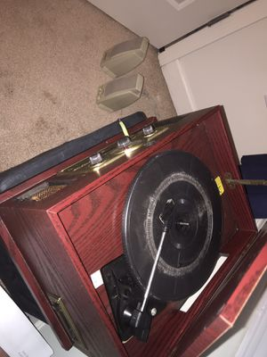 Antique Record Player/Speaker Set for Sale in Harrisonburg, VA