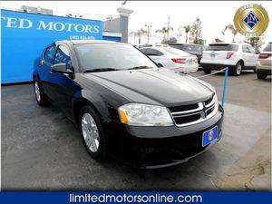 2012 Dodge Avenger for Sale in Bakersfield, CA