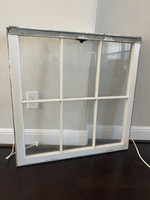 Antique Farm House Glass Window for Sale in Georgetown, TX