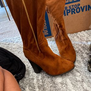 Knee High Suede Boots for Sale in Stafford, VA