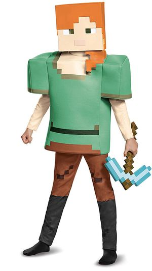 """🎃 New, MINECRAFT """"ALEX"""" Costume! Size 7-8 💥CHECK OUT MY PAGE FOR LOTS MORE HALLOWEEN COSTUMES!!! for Sale in Moreno Valley, CA"""