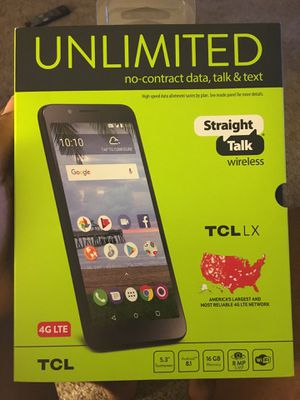 Straight talk TCL LX for Sale in Fresno, CA