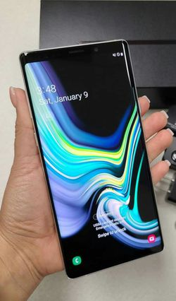SAMSUNG Galaxy Note 9, 128GB Unlocked, Excellent condition, Works any Company Sim,Any Country. for Sale in Springfield,  VA