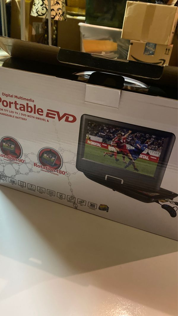 Portable DVD player 9.8""