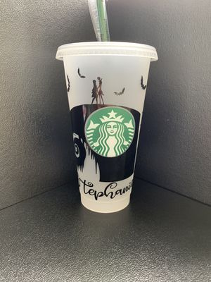 Nightmare before Christmas Starbucks Cup for Sale in Cape Coral, FL