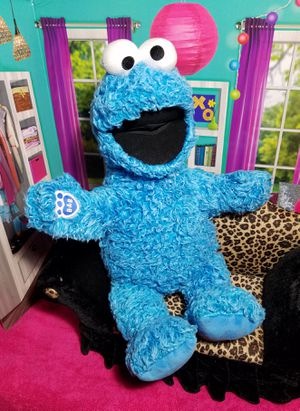 Build A Bear Cookie Monster Sesame St. Beary BABW Limited Edition Collectibear for Sale in Dale, TX