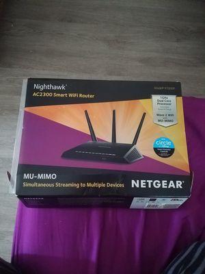 Netgear nighthawk ac2300 smart wifi router for Sale in Ontario, CA
