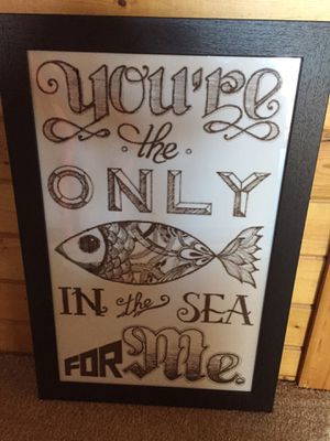 """Custom picture 21""""x31"""" for Sale in New Columbia, PA"""