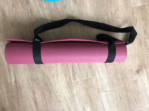 Yoga mat with strap for Sale in Boston, MA