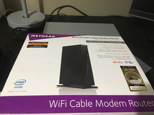 WiFi Cable modem router for Sale in Murrieta, CA