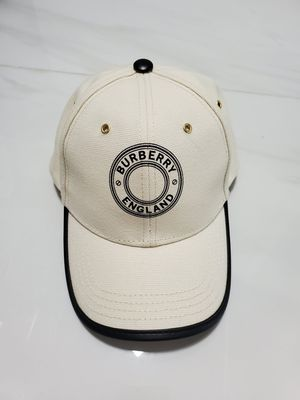 Burberry Black Leather Trucker Hat for Sale in SUNNY ISL BCH, FL