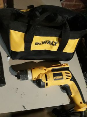 DeWalt corded drill set for Sale in Tyler, TX