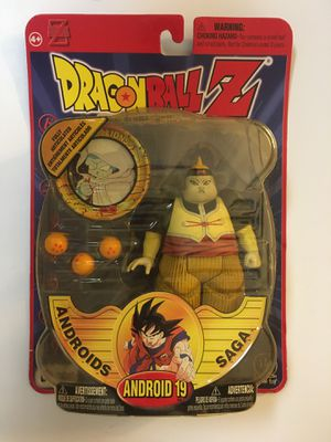 Dragonball Z Androids Saga ANDROID 19 Deluxe Action Figure 2000 Irwin Toy Series 5 Dragon Ball Z DBZ NEW IN PACKAGE!!! for Sale in Orlando, FL