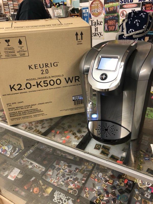 NEW KEURIG K2.0 k500wr coffee make machine touch screen in box