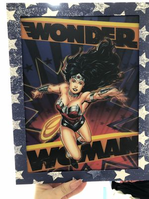 Wonder Woman wall art for Sale in Silver Spring, MD