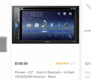 Pioneer touch screen deck / receiver for Sale in San Jose, CA