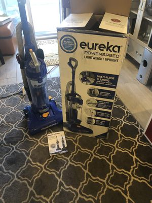 NEW!! Eureka Powerspeed Lightweight Upright Vacuum for Sale in Las Vegas, NV