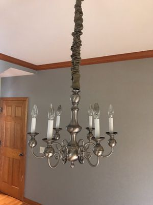 Pewter chandelier (20 x 18) for Sale in Lincoln, NE