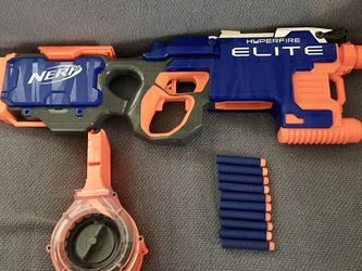 NERF N-Strike Elite HyperFire Blaster for Sale in Tacoma,  WA