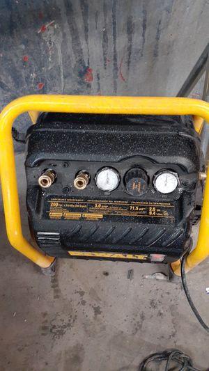 DeWalt compressor for Sale in Stockton, CA