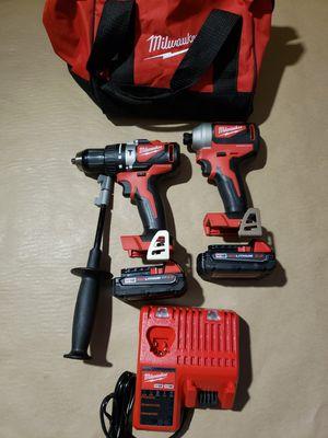 Milwaukee M18 Brushless Hammer Drill Kit for Sale in Greenville, SC