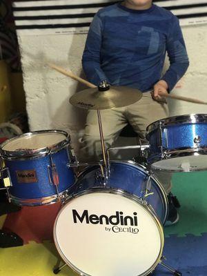 Mendini 3 drum set kids 13 inch for Sale in Portland, OR