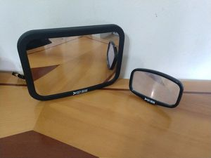 Shatterproof Baby Car Mirror Backseat View Infant in Rear Facing Car Seat Safety Crash Tested & Crystal Clear for Sale in Revere, MA