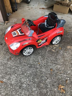 Toddler electric car for Sale in Gainesville, GA