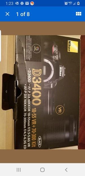 Nikon D3400 18-55 VR & 70-300 KIT for Sale in Riverton, WY