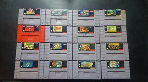 Snes Video Games for Sale A for Sale in Rancho Cucamonga, CA