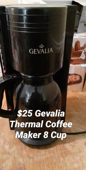 Gevalia Thermal Coffee Maker 8 Cup for Sale in Bowie, MD