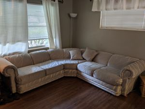 Vintage sectional couch for Sale in Sanford, FL
