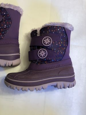 Snow Boots - Purple - Size girls 9/10 for Sale in Seattle, WA