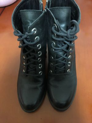 Aldo leather mid heel boots for women for Sale in Brooklyn, NY