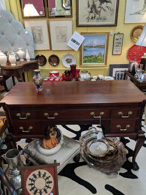 Genuine Solid Mahogany Desk for Sale in Richmond, VA