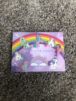 My little pony eyeshadow pallet colorpop for Sale in Bloomington, MN