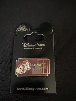Disney Chip N Dale Admin One Ticket Pin for Sale in Baldwin Park,  CA