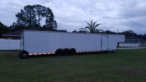 2006 Forest River Cargo Mate Car Hauler trailer Custom interior