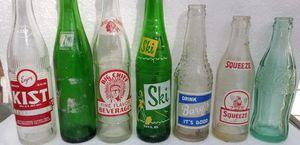vintage glass pop bottles for Sale in Konawa, OK