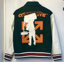 Off White Varsity Jacket Xl for Sale in Brooklyn,  NY