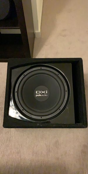 "DXI Polk Audio 12"" Subwoofer for Sale in Mesa, AZ"