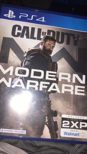 Call of duty modern warfare for Sale in San Jose, CA