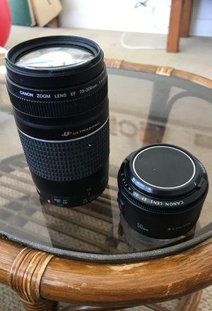 Canon lenses for Sale in Honolulu, HI