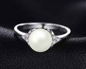 8mm Freshwater Cultured Pearl Ring 925 Sterling Silver for Sale in Wichita, KS