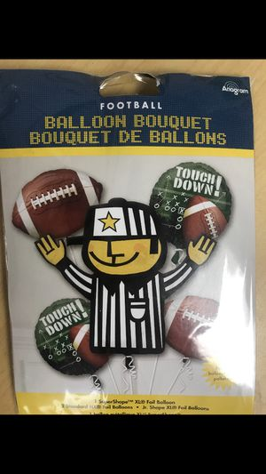 Football balloon bouquet for Sale in Waterbury, CT