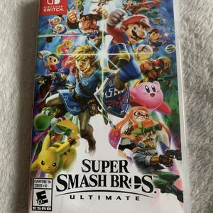 Super Smash Bros Ultimate for Nintendo Switch for Sale in Hallandale Beach, FL