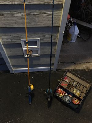 Kids/beginners fishing setup for Sale in Norfolk, VA