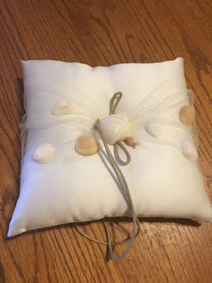 Seashell Ring pillow for Sale in Fort Walton Beach, FL
